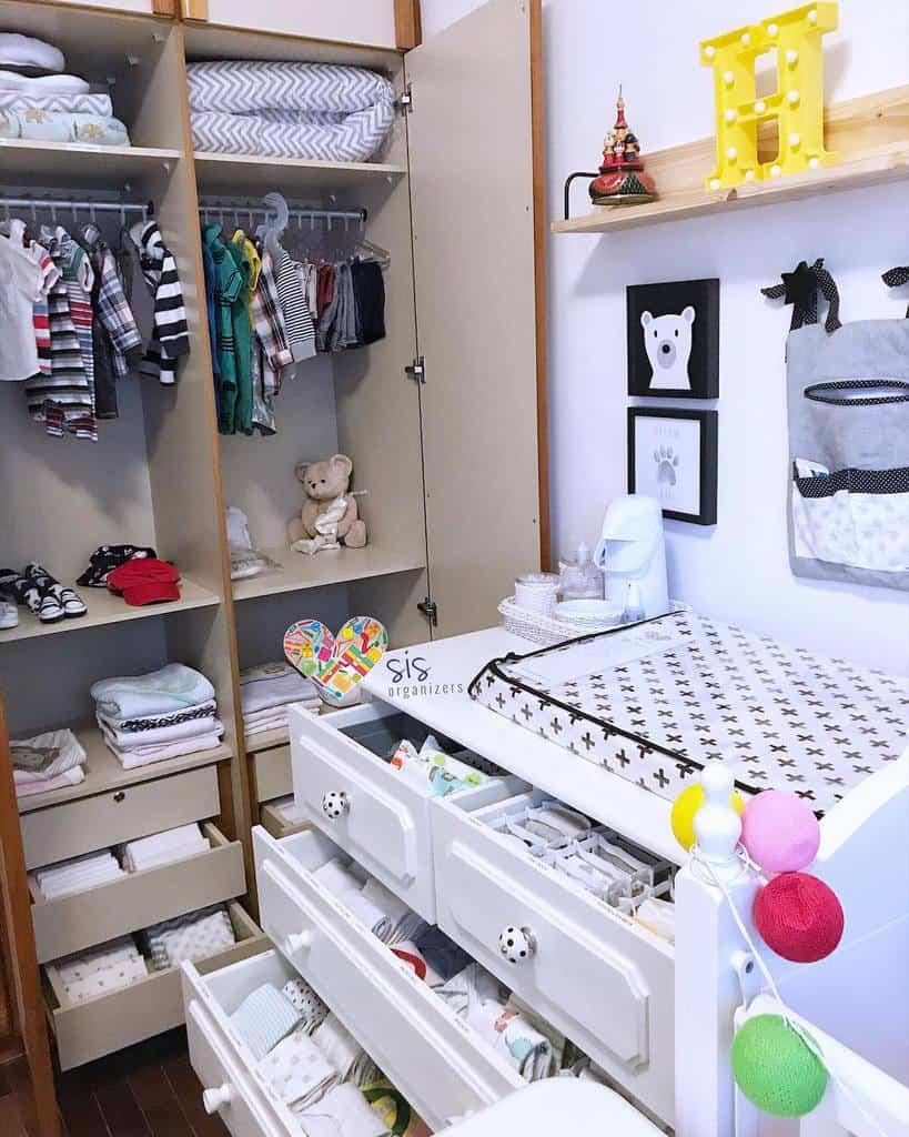 Children Clothes Storage Ideas -sis_organizers