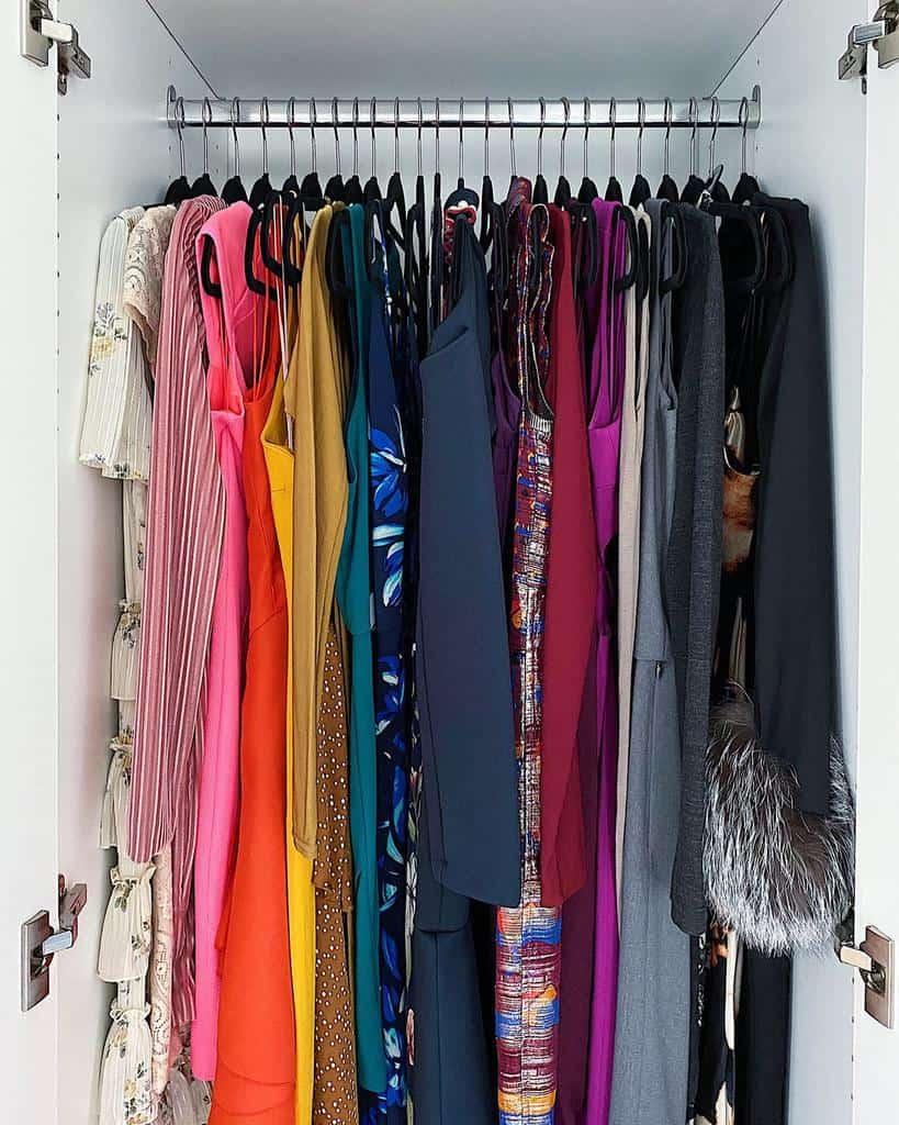 Closet Clothes Storage Ideas -ashleyjoneshatcher