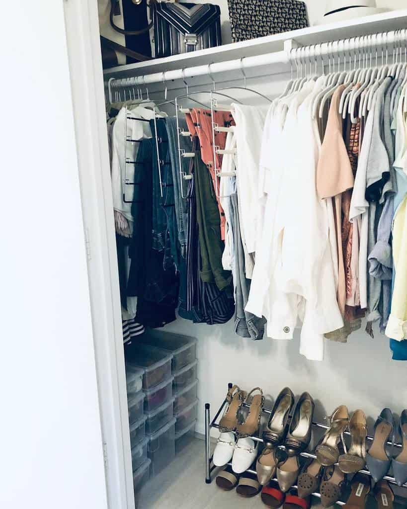 Closet Clothes Storage Ideas -sucursalcielo