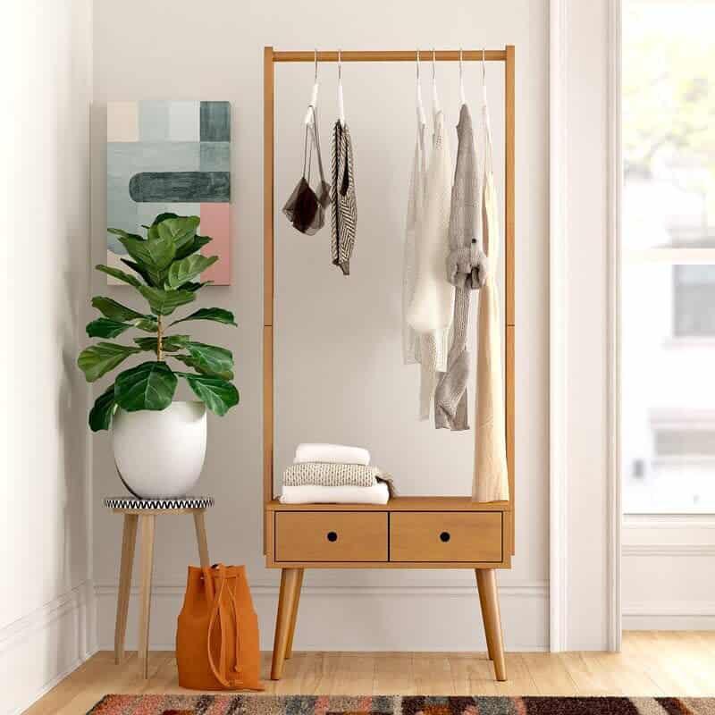 DIY Clothes Storage Ideas -fournish_craft