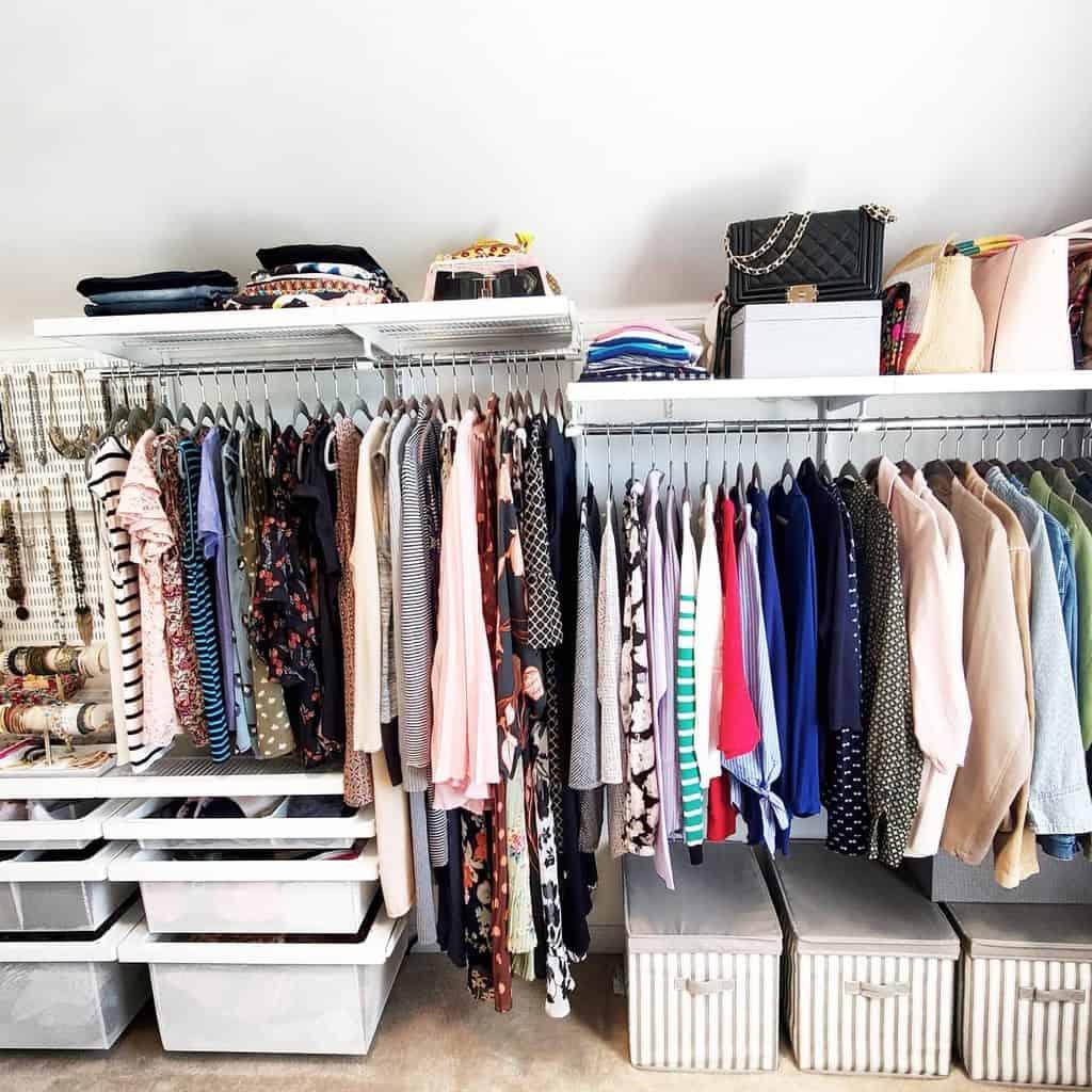 DIY Clothes Storage Ideas -home_organize