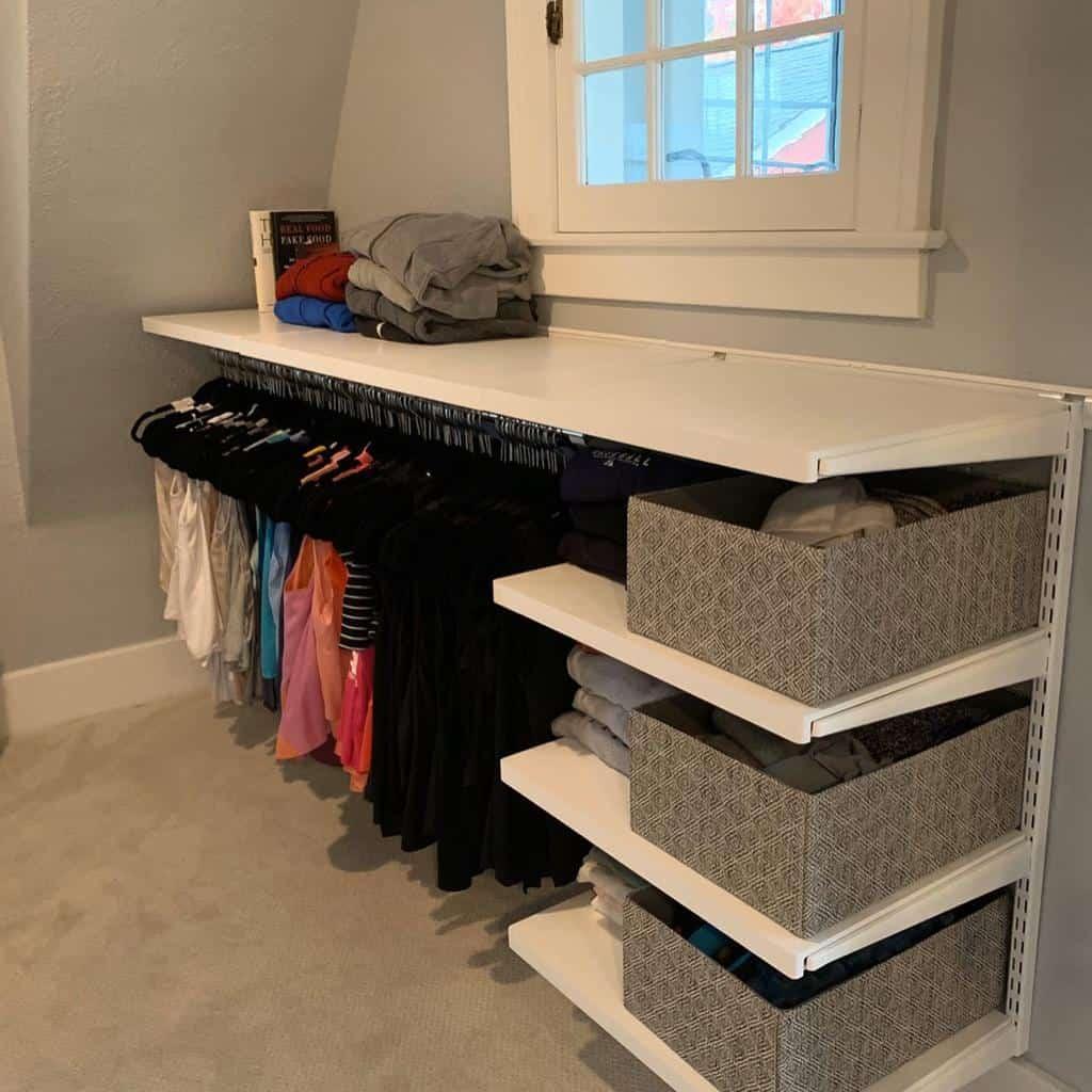 DIY Clothes Storage Ideas -serenityathomedetroit