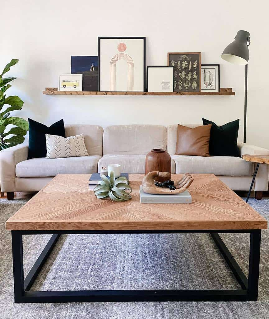 DIY Coffee Table Ideas -hazelandhen