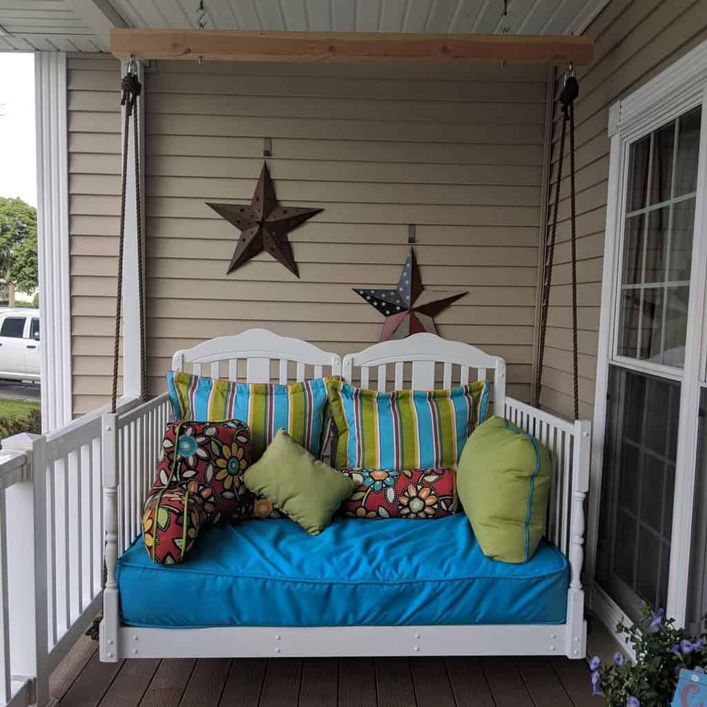 DIY Front Porch Decorating Ideas -jaimelynn976