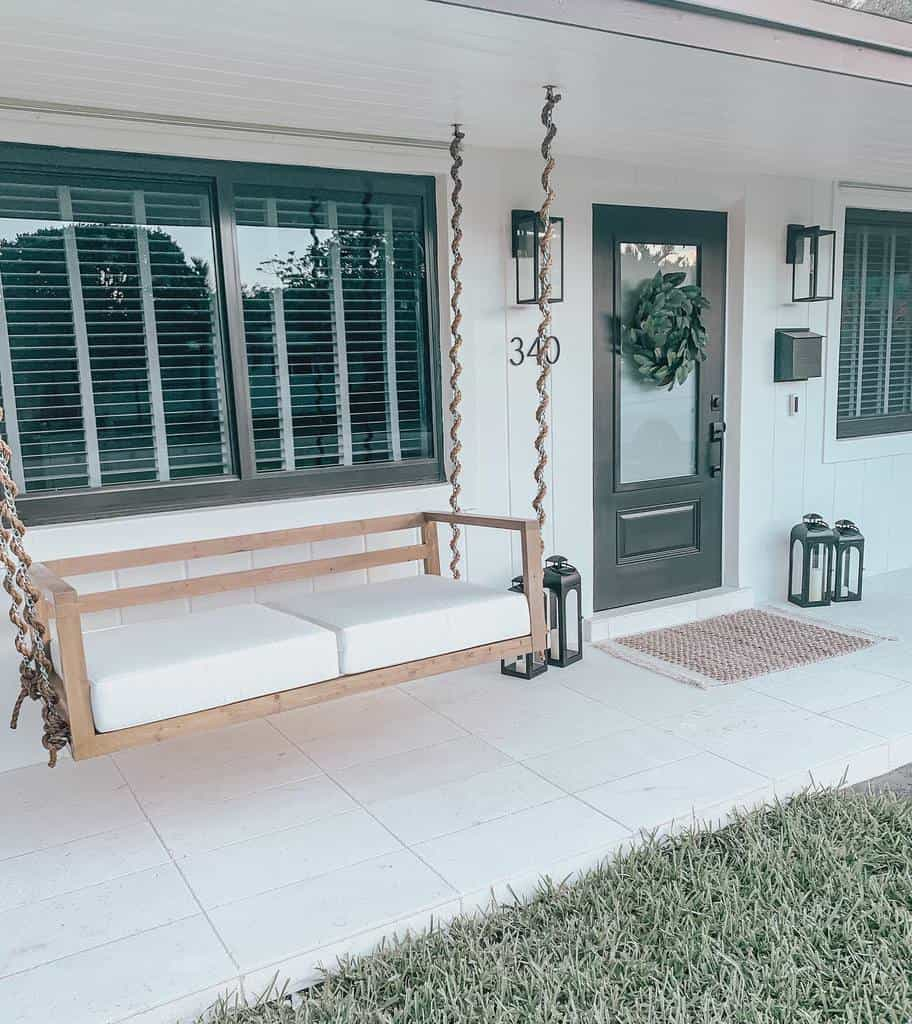 DIY Front Porch Decorating Ideas -jensgatheringnest