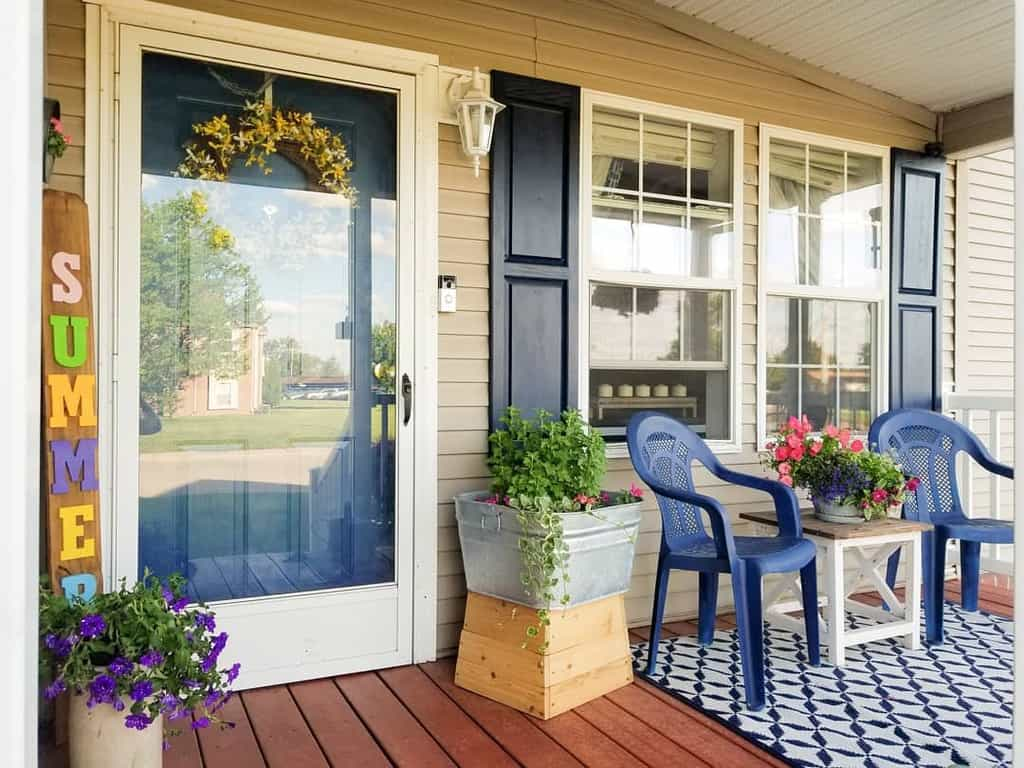 DIY Front Porch Decorating Ideas -lifeonelderave