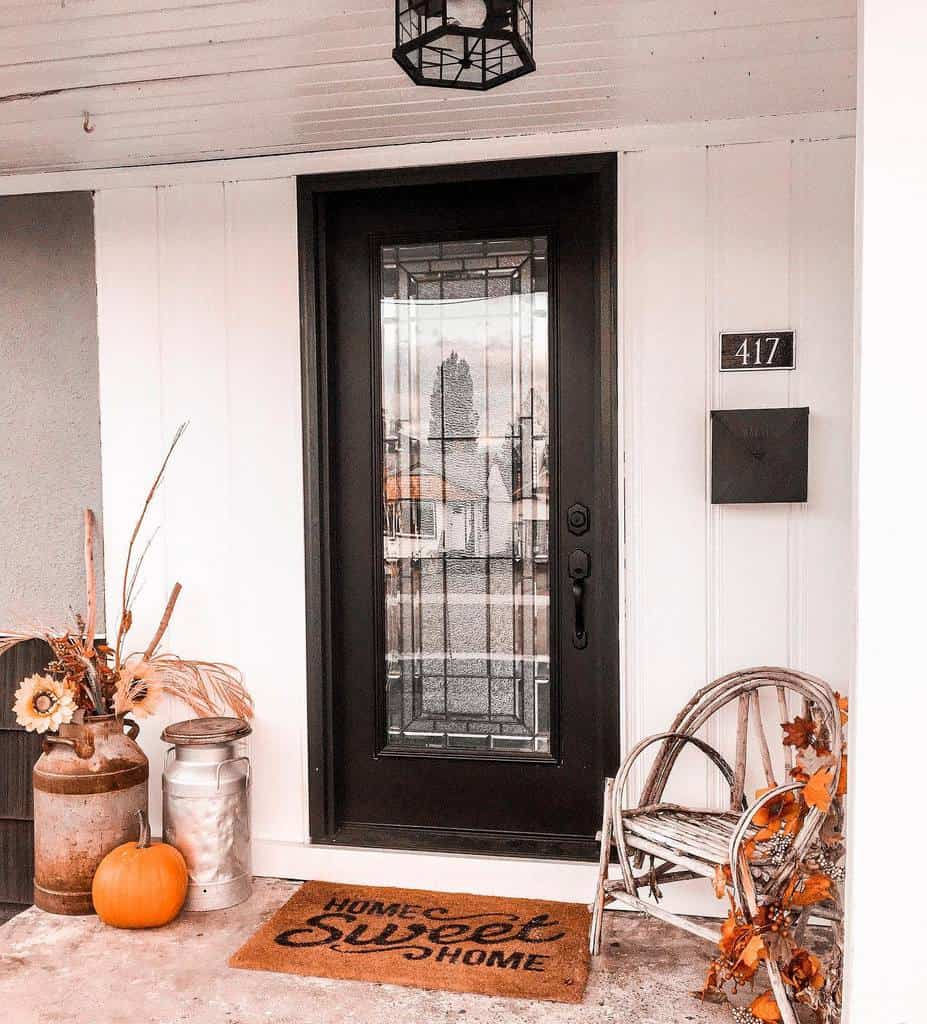 DIY Front Porch Decorating Ideas -theblissbuild