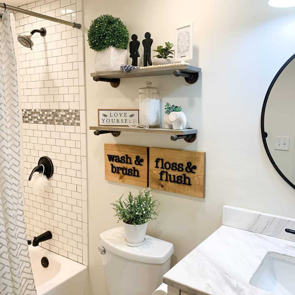 DIY Over The Toilet Storage Ideas -302woodworks