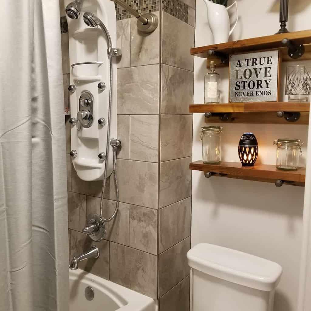 DIY Over The Toilet Storage Ideas -dark.horse.designs