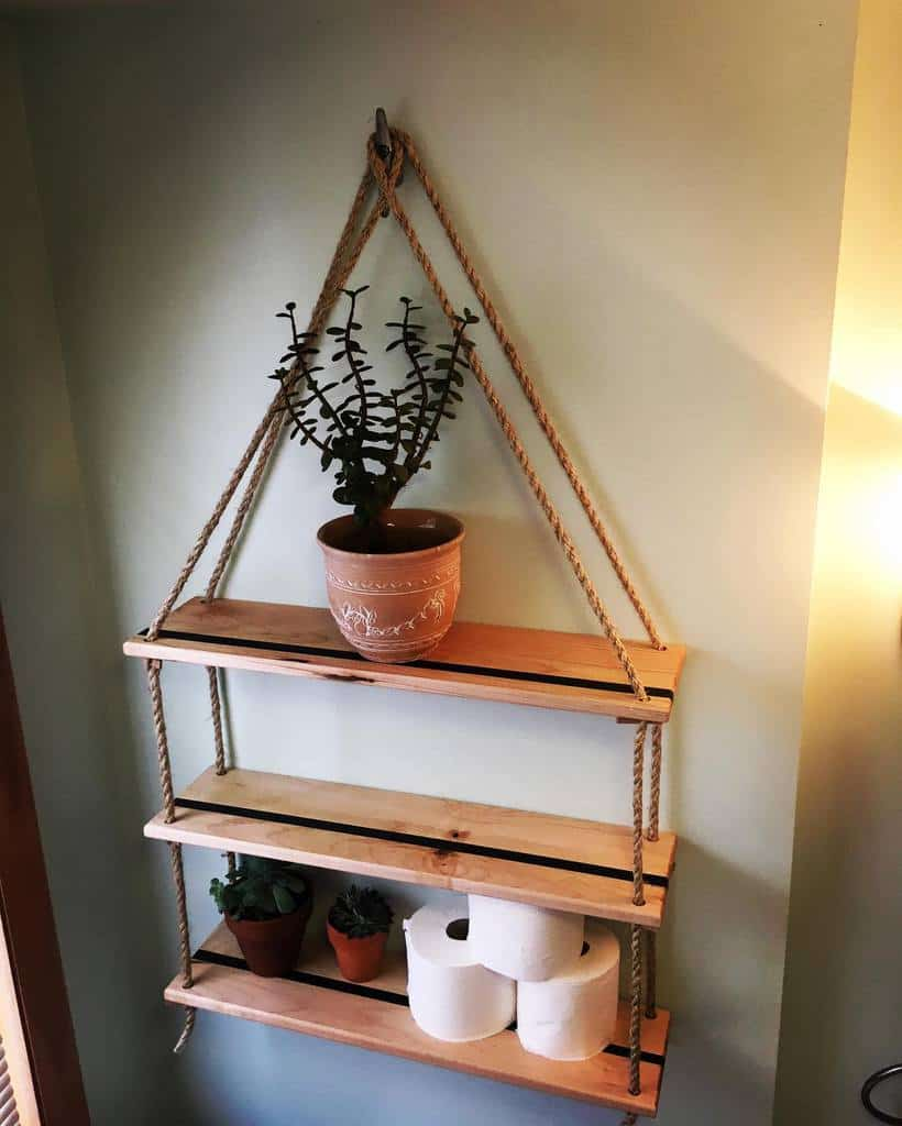 DIY Over The Toilet Storage Ideas -luccichio.woodworks.vt