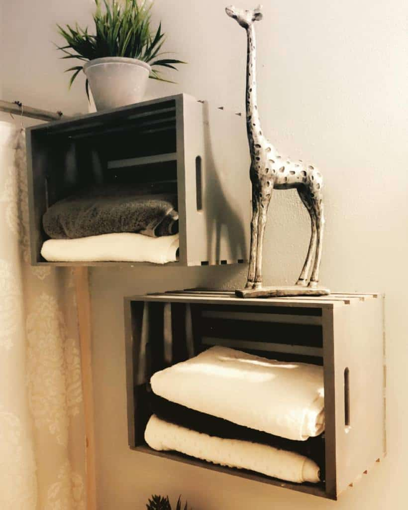 DIY Over The Toilet Storage Ideas -martinezz_carpentry