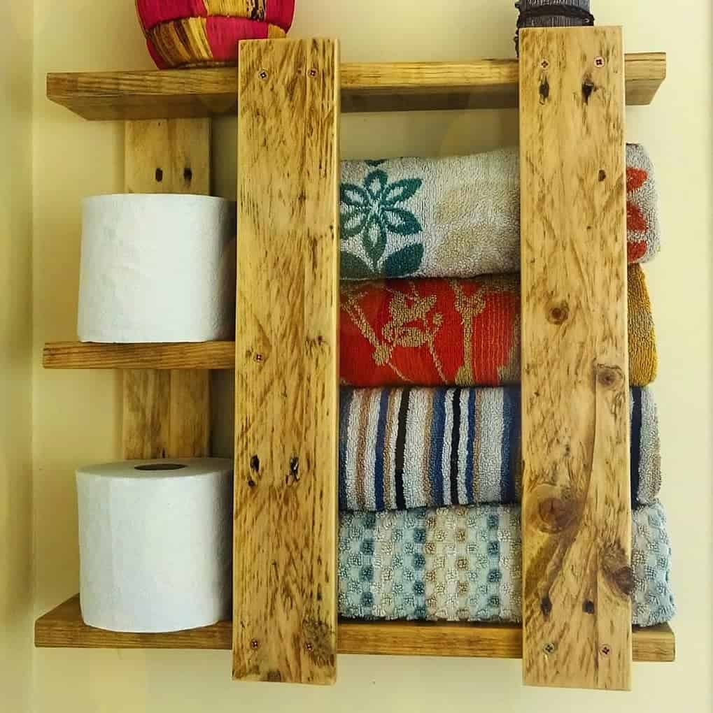 DIY Over The Toilet Storage Ideas -simplicitypallets