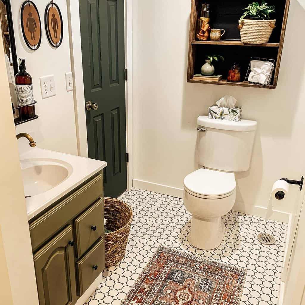 DIY Over The Toilet Storage Ideas -updatemycape