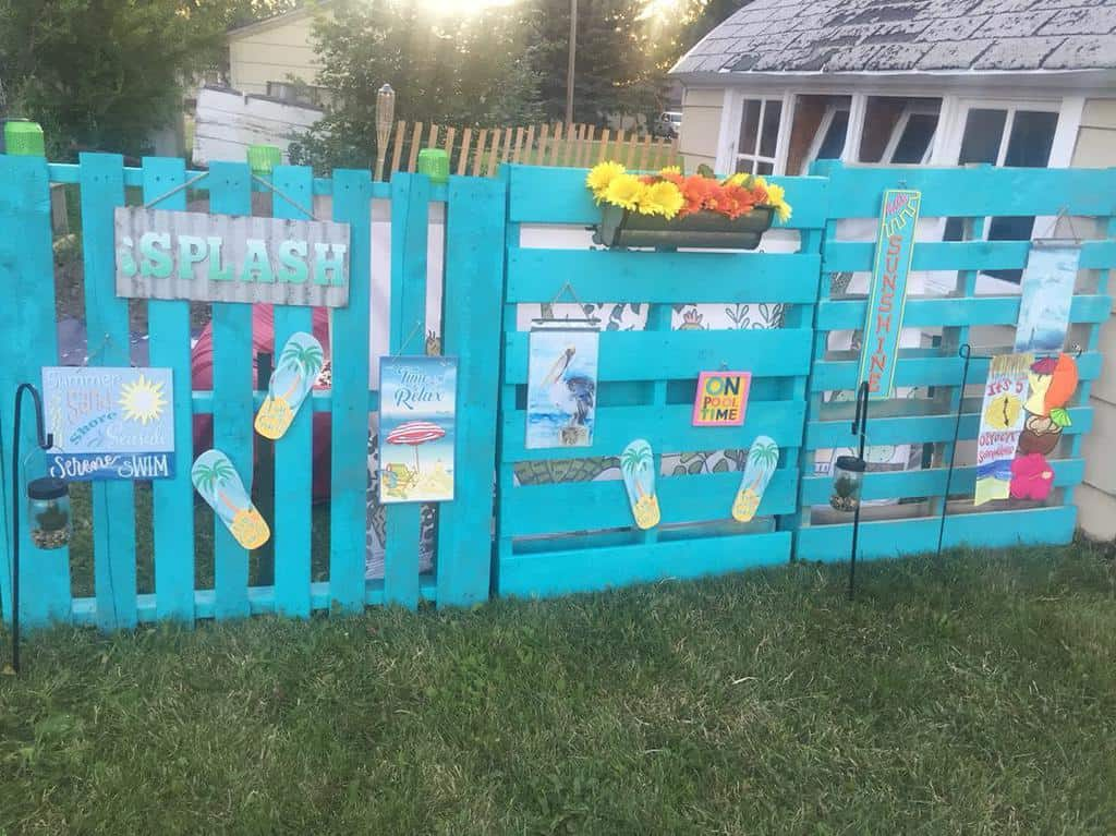 DIY Pallet Fence Ideas -ckburgod