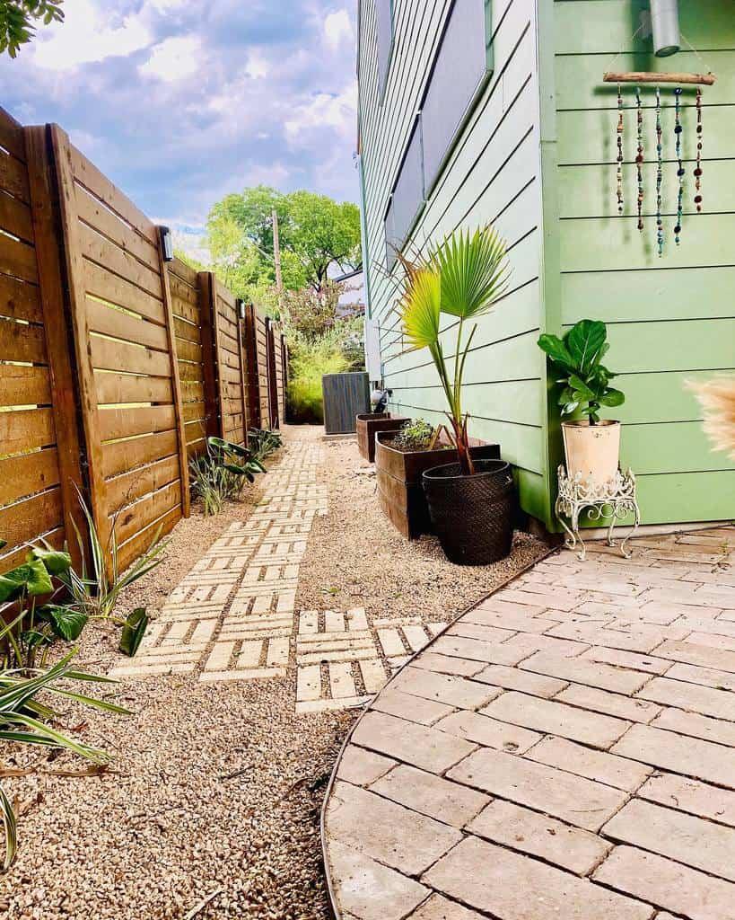 DIY Side Yard Ideas -alexvanness