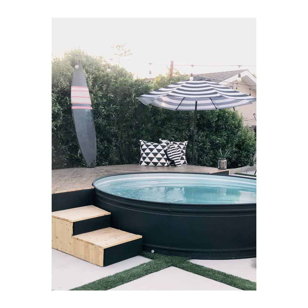 DIY Small Pool Ideas -houseofbutterfield