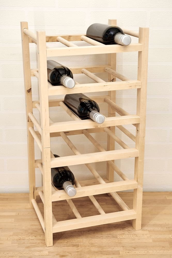 A,Studio,Photo,Of,A,Wooden,Wine,Rack