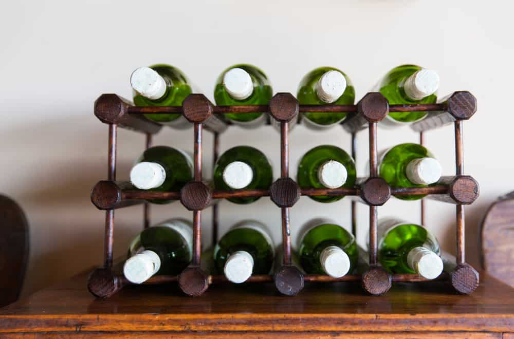 Storage,,Winery,And,Alcohol,Drinks,Concept,-,White,Wine,Bottles