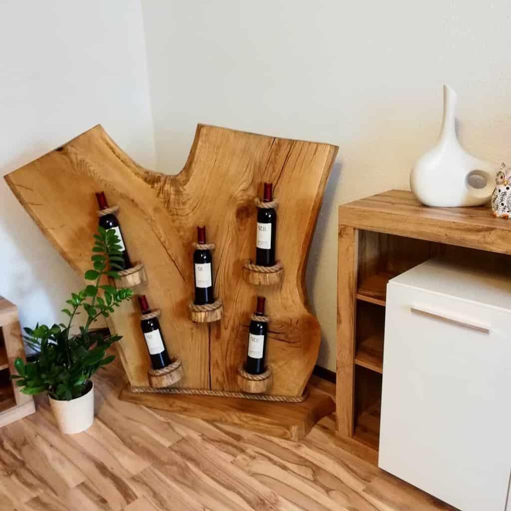DIY Wine Rack Ideas -holzinderhuette