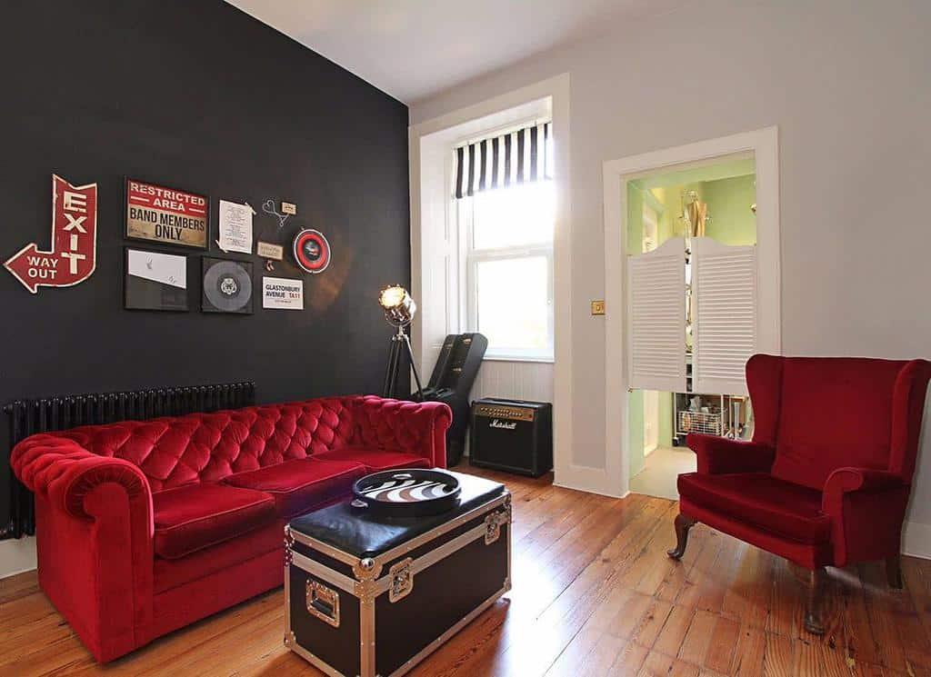 Decor Music Room Ideas -upcycgirl