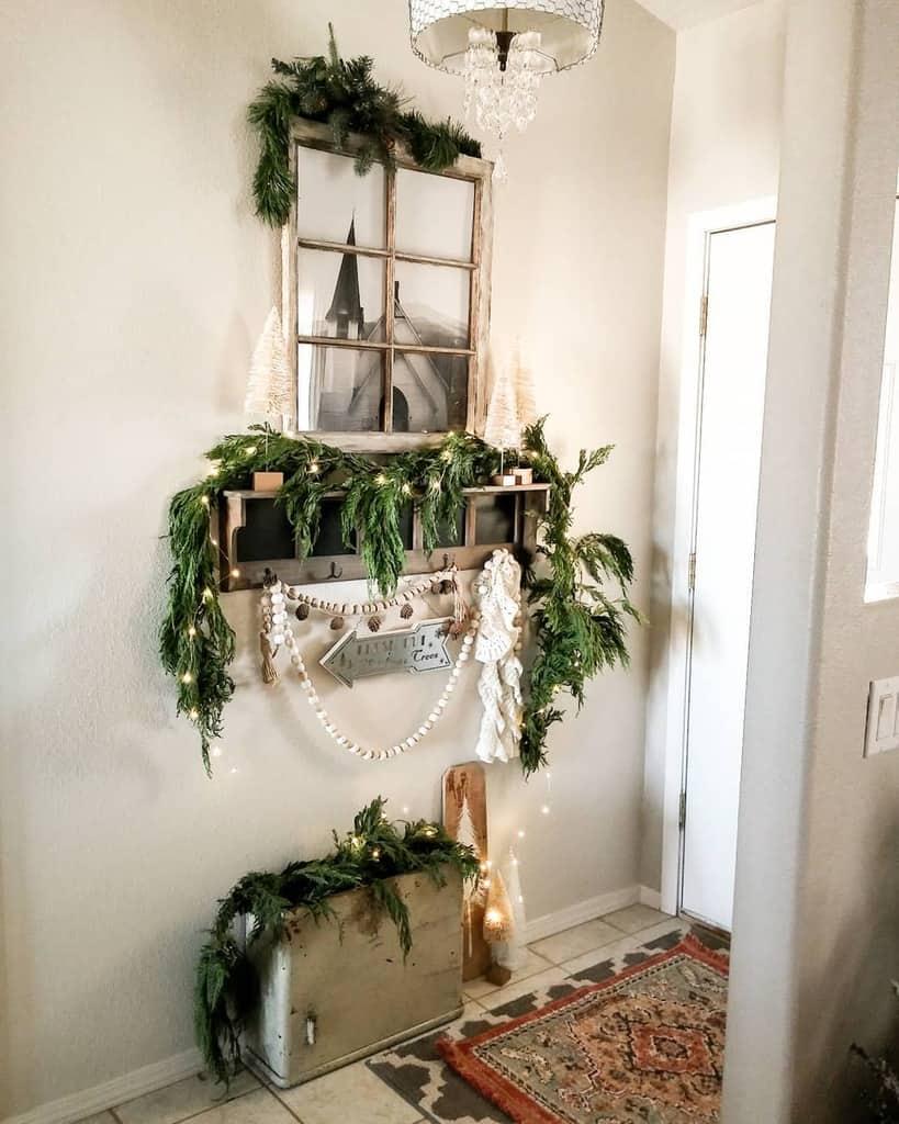 Farmhouse Small Entryway Ideas -repurposedecor