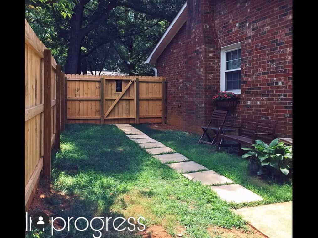 Fence Side Yard Ideas -mariashomaker