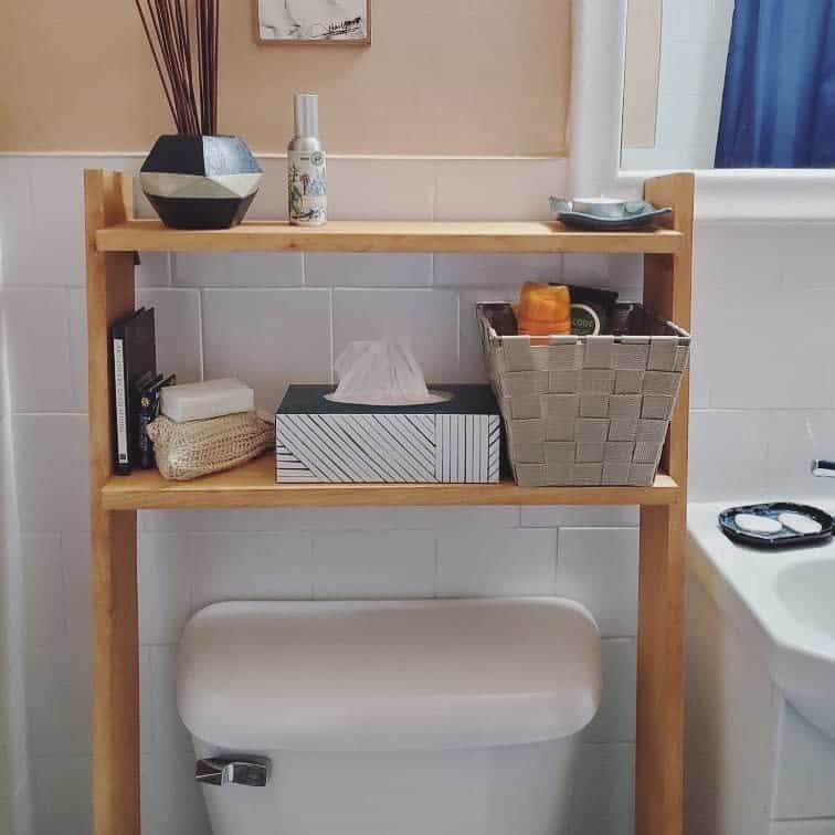 Freestanding Over The Toilet Storage Ideas -theknotspecialists