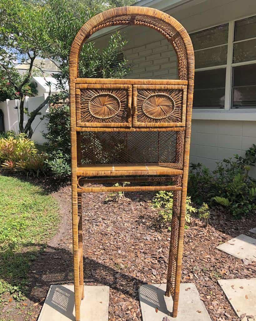 Freestanding Over The Toilet Storage Ideas -wildbird_vintage