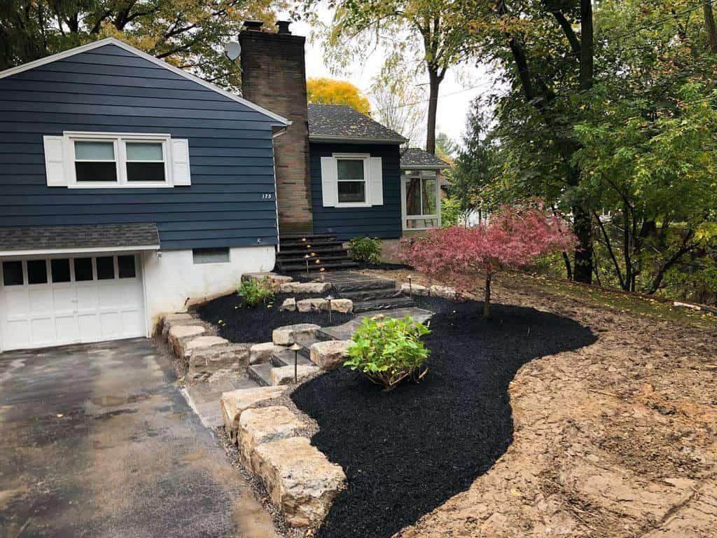 Frontyard Hardscaping Ideas -demott_stoneworks