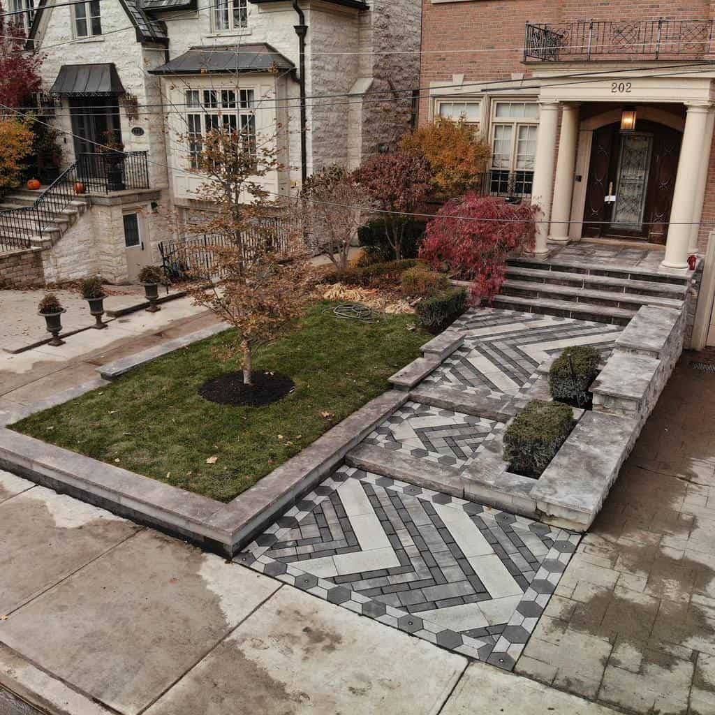 Frontyard Hardscaping Ideas -nrx_landscaping
