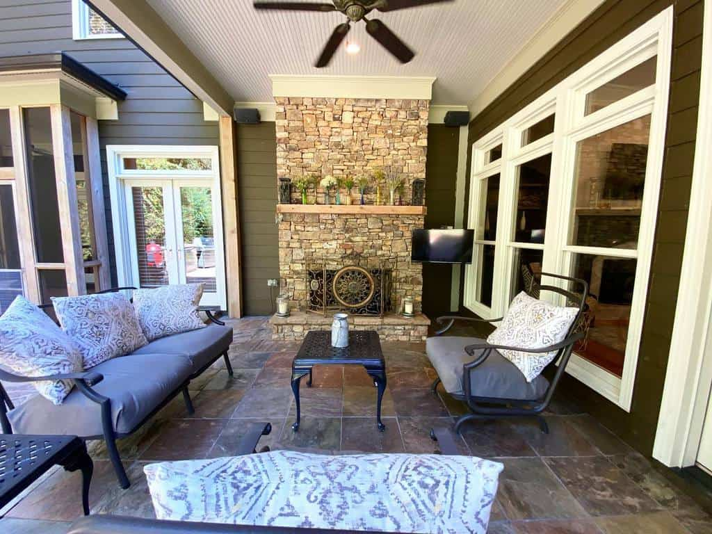 Furniture Front Porch Decorating Ideas -sharonlee_ga400living