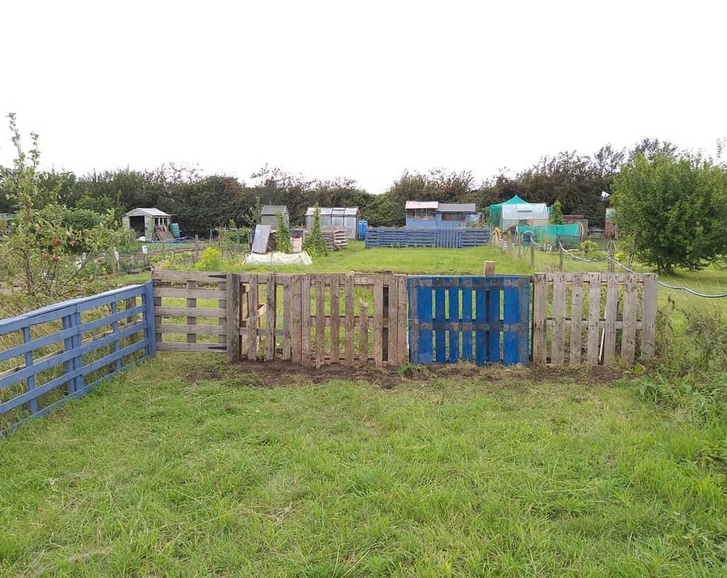 Garden Pallet Fence Ideas -thegardeningentomologist