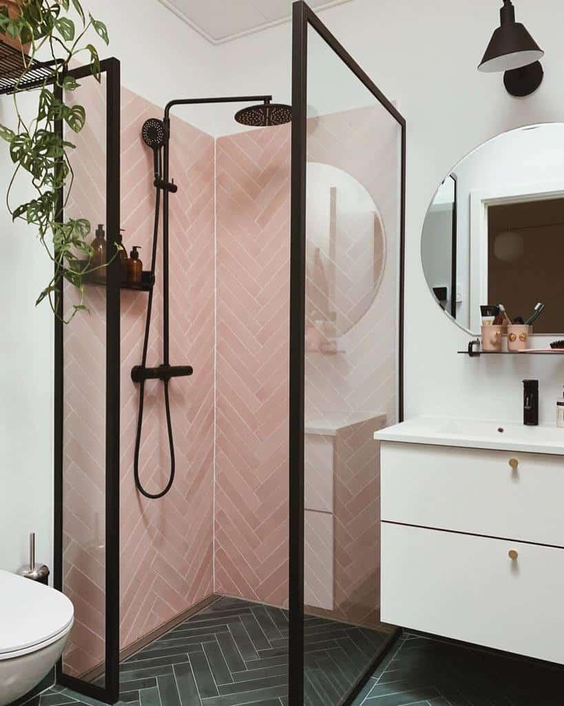 Glass Partition Doorless Walk In Shower Ideas -ditteblog