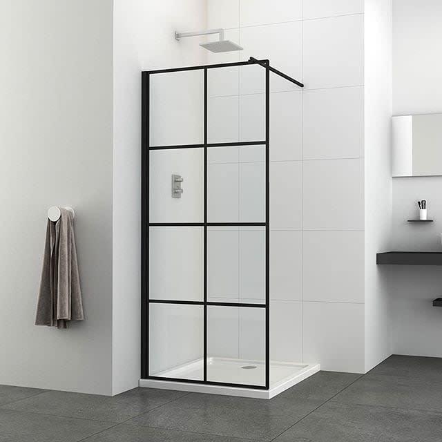 Glass Partition Doorless Walk In Shower Ideas -enslisanitaryware