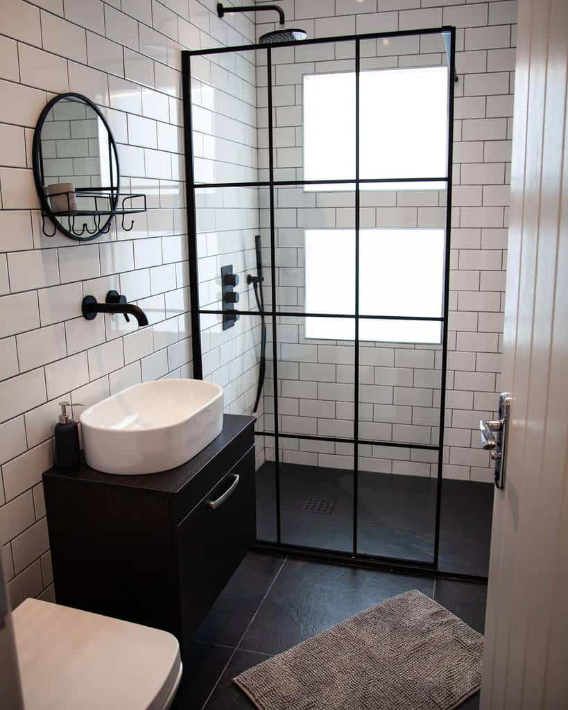 Glass Partition Doorless Walk In Shower Ideas -insidepropertyinvesting