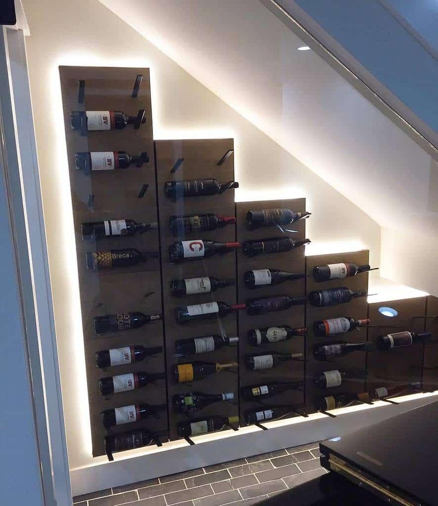 Glass Wine Rack Ideas -glasswinecellars