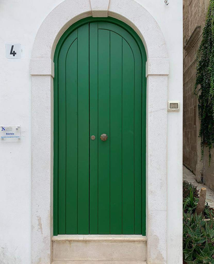 Green Front Door Ideas -kowalsky_john