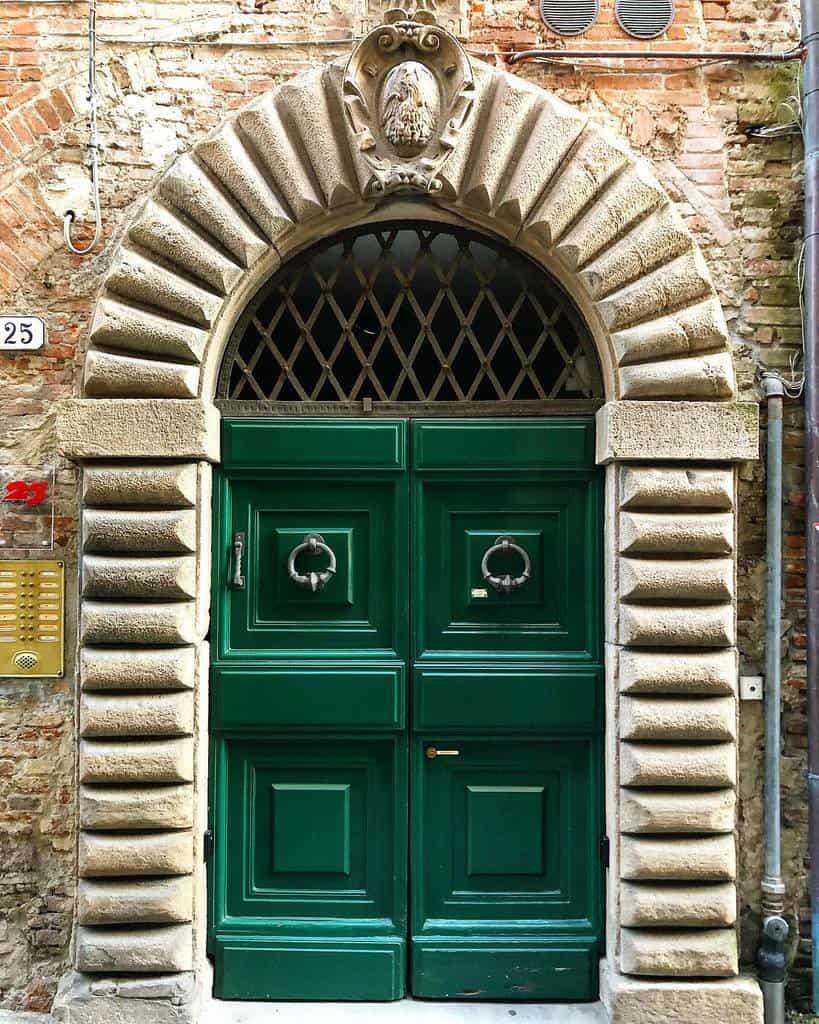 Green Front Door Ideas -luccaclick