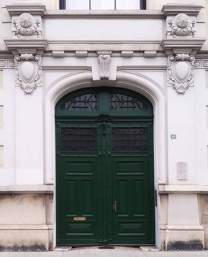 Green Front Door Ideas -puertas_mundo