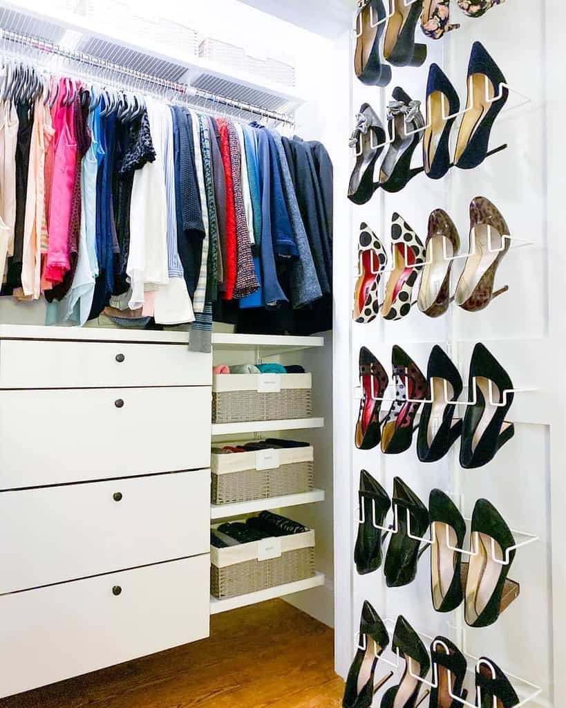 Hacks Clothes Storage Ideas 2 -horderly