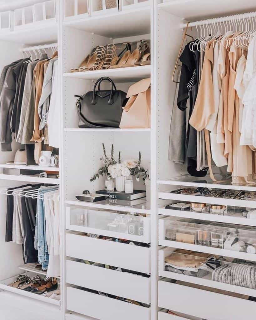 Hacks Clothes Storage Ideas -just_indesign