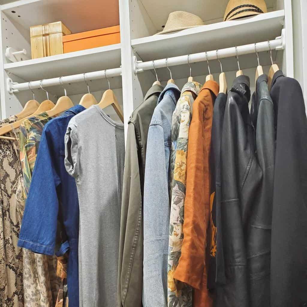 Hacks Clothes Storage Ideas -sustainable.wardrobe.stylist