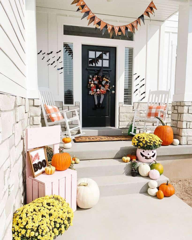Halloween Front Porch Decorating Ideas -navypatten