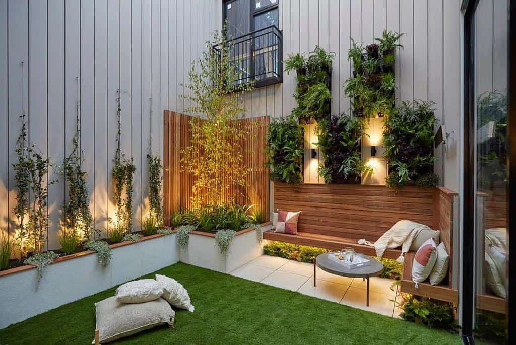 Hardscaping Ideas for Small Spaces -ashley_james_gardens