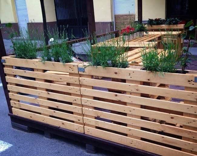 Horizontal Pallet Fence Ideas -________palletcreation________