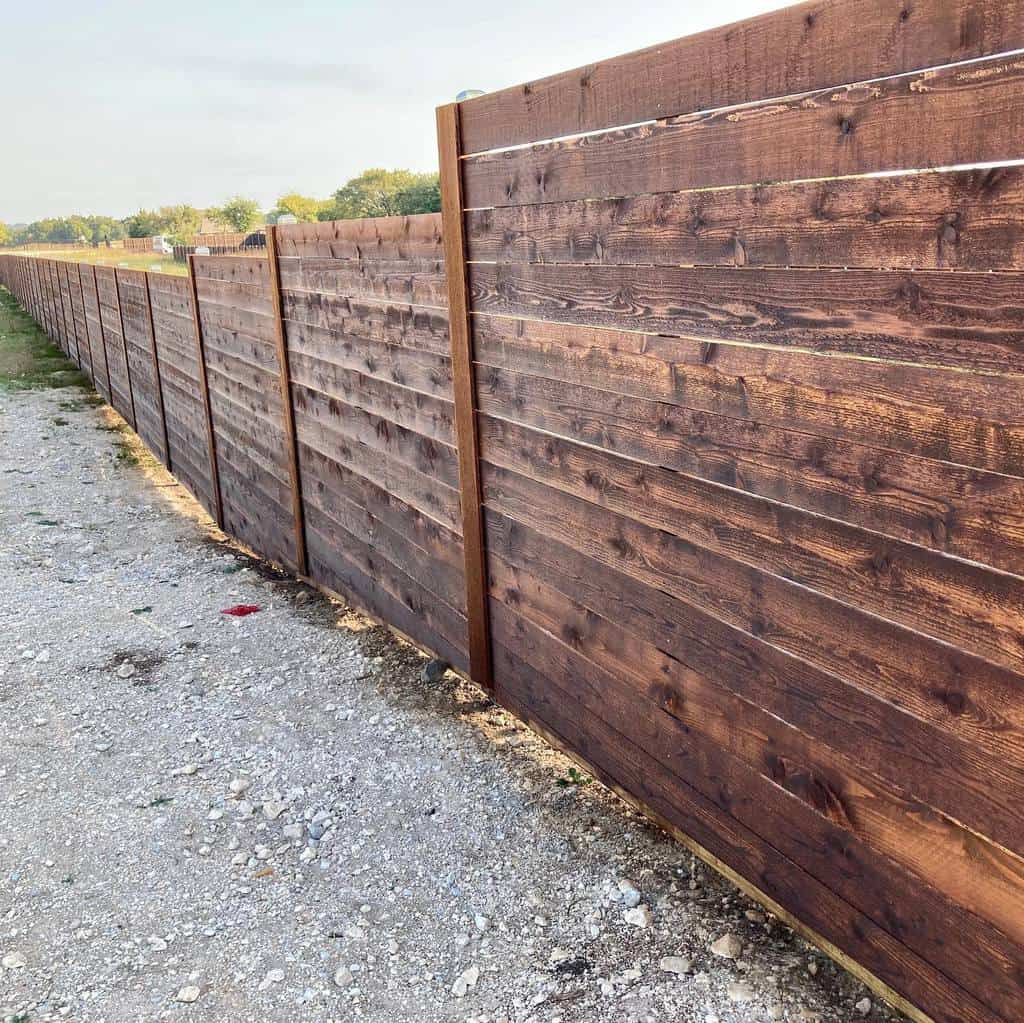 Horizontal Pallet Fence Ideas -custom_fence_and_pergola_llc