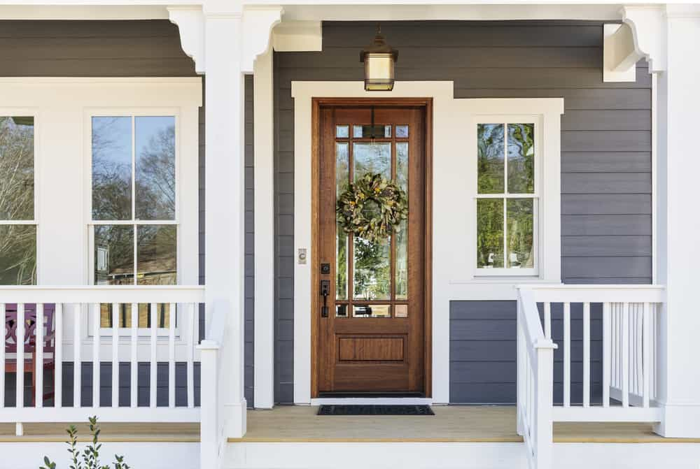 Front,Door,Of,An,Arts,&,Crafts,House
