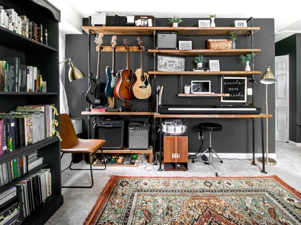 In House Music Room Ideas -ashleypresson