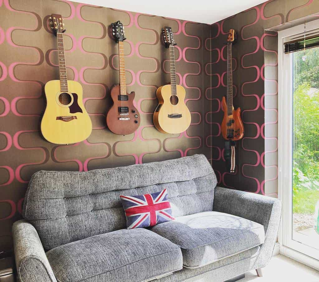 In House Music Room Ideas -phils_plectrums