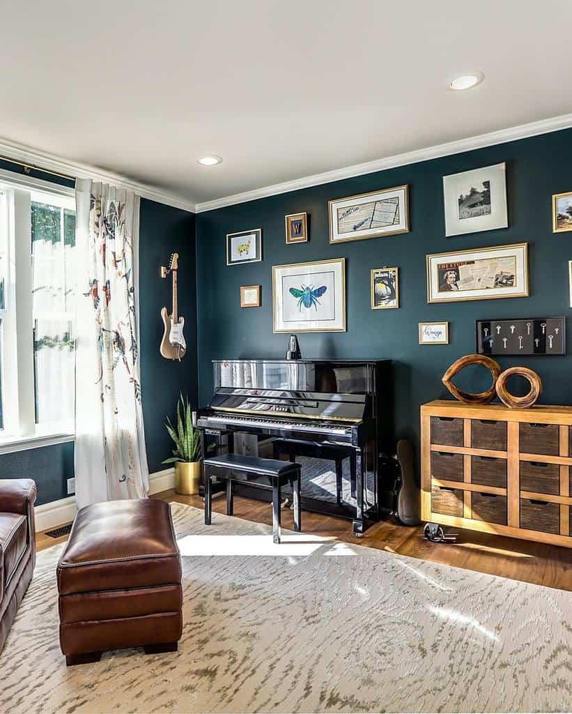 In House Music Room Ideas -rvinteriordesign